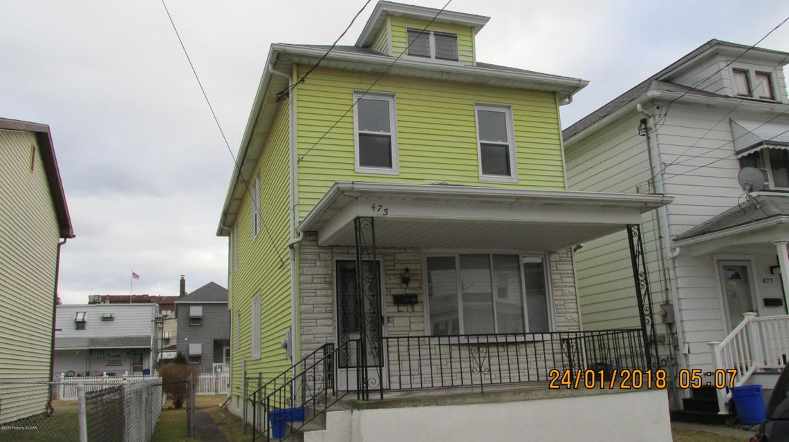 475 Wyoming St,Hanover Township,Pennsylvania 18706,3 Bedrooms Bedrooms,6 Rooms Rooms,1 BathroomBathrooms,Residential,Wyoming,18-319