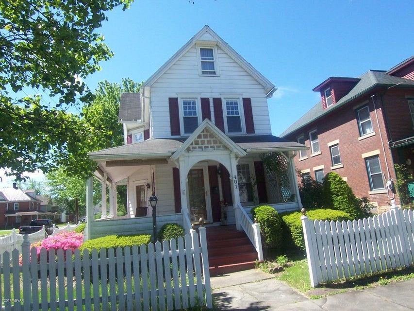 401 WASHINGTON AVENUE,Jersey Shore,PA 17740,3 Bedrooms Bedrooms,1.5 BathroomsBathrooms,Residential,WASHINGTON,WB-80833