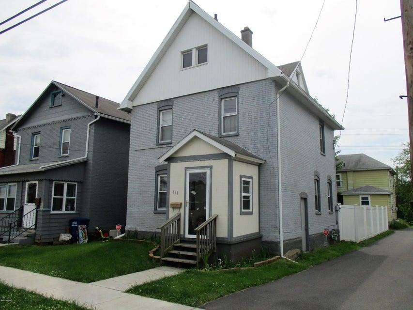 441 OLIVER STREET,Williamsport,PA 17701,2 Bedrooms Bedrooms,1.5 BathroomsBathrooms,Residential,OLIVER,WB-81028