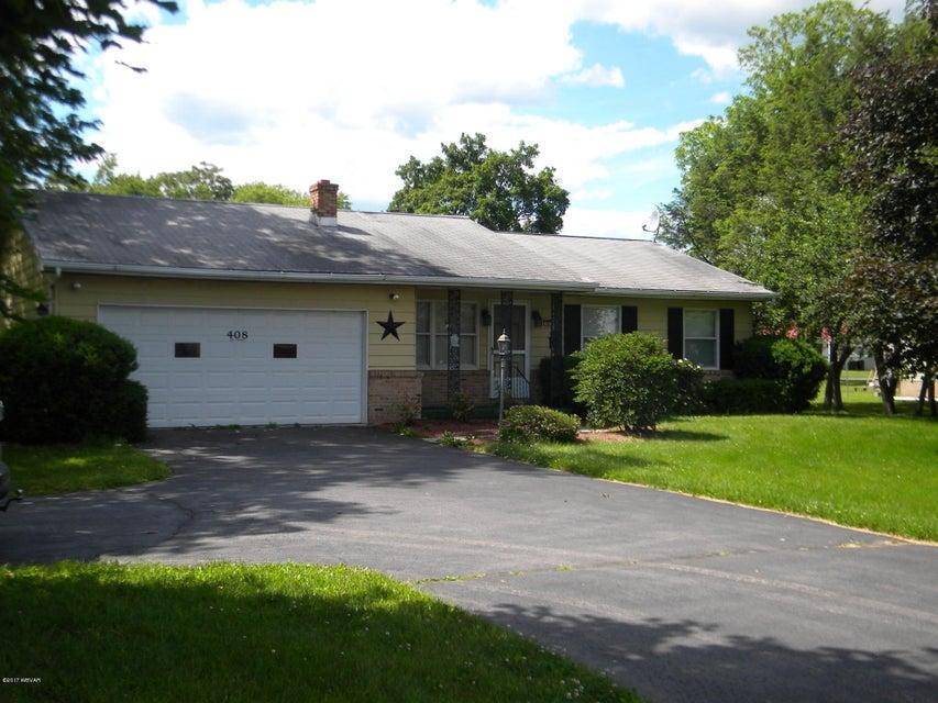 408 MAIN STREET,Hughesville,PA 17737,3 Bedrooms Bedrooms,1.5 BathroomsBathrooms,Residential,MAIN,WB-81108
