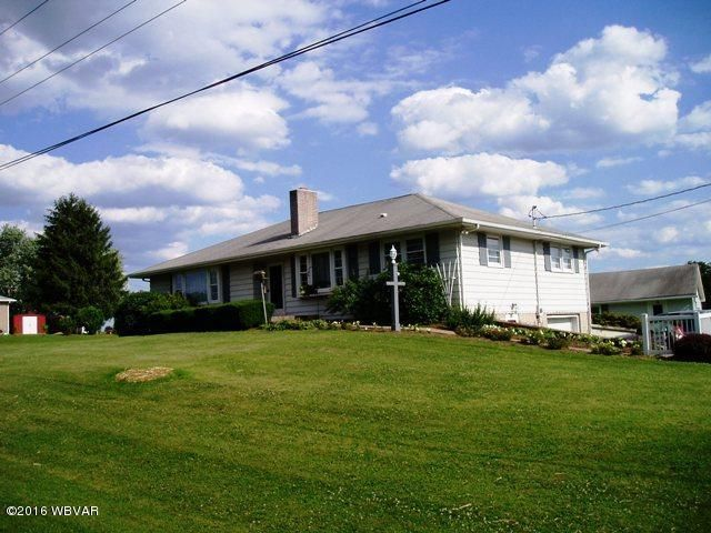 3905 STATE ROUTE 54 HIGHWAY,Turbotville,PA 17772,3 Bedrooms Bedrooms,3 BathroomsBathrooms,Residential,STATE ROUTE 54,WB-81492