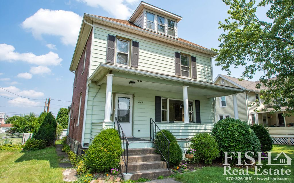 648 7TH AVENUE,Williamsport,PA 17701,4 Bedrooms Bedrooms,2 BathroomsBathrooms,Residential,7TH,WB-81504