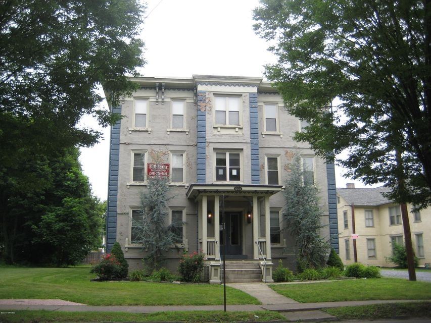 1036 FOURTH STREET,Williamsport,PA 17701,Multi-units,FOURTH,WB