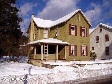 307 MAIN STREET,Salladasburg,PA 17740,4 Bedrooms Bedrooms,1 BathroomBathrooms,Residential,MAIN,WB-82926