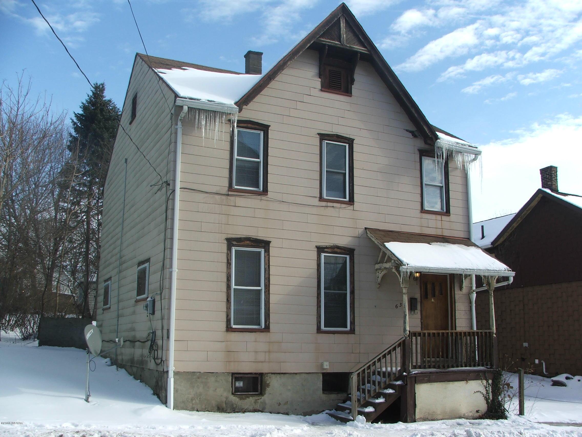 634 FRANKLIN STREET,Williamsport,PA 17701,4 Bedrooms Bedrooms,1 BathroomBathrooms,Residential,FRANKLIN,WB-83001