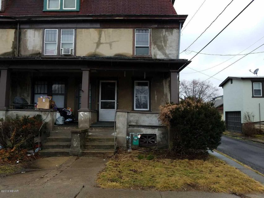 651 4TH AVENUE,Williamsport,PA 17701,3 Bedrooms Bedrooms,1 BathroomBathrooms,Residential,4TH,WB-83484