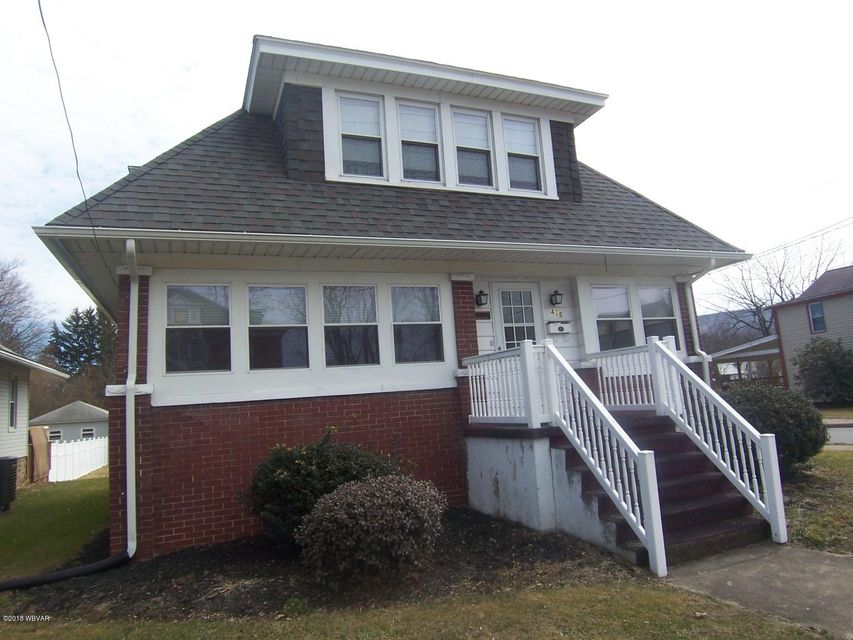 455 BROAD STREET,Jersey Shore,PA 17740,3 Bedrooms Bedrooms,2 BathroomsBathrooms,Residential,BROAD,WB-83487