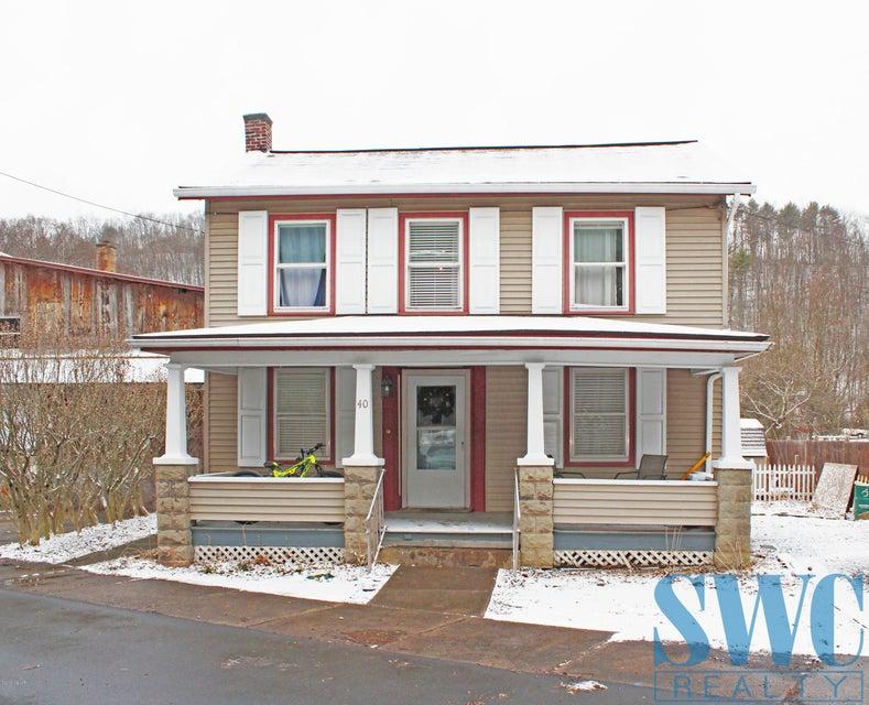 40 WATER STREET,Salladasburg,PA 17740,4 Bedrooms Bedrooms,2 BathroomsBathrooms,Residential,WATER,WB-83510