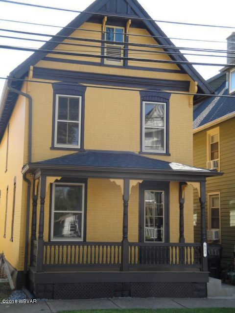 511 EDWIN STREET,Williamsport,PA 17701,3 Bedrooms Bedrooms,1 BathroomBathrooms,Residential,EDWIN,WB-83880