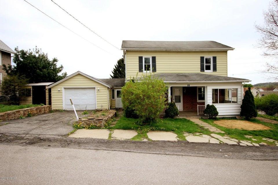 86 IRVIN STREET,Irvona,PA 16656,2 Bedrooms Bedrooms,1 BathroomBathrooms,Residential,IRVIN,WB-84135