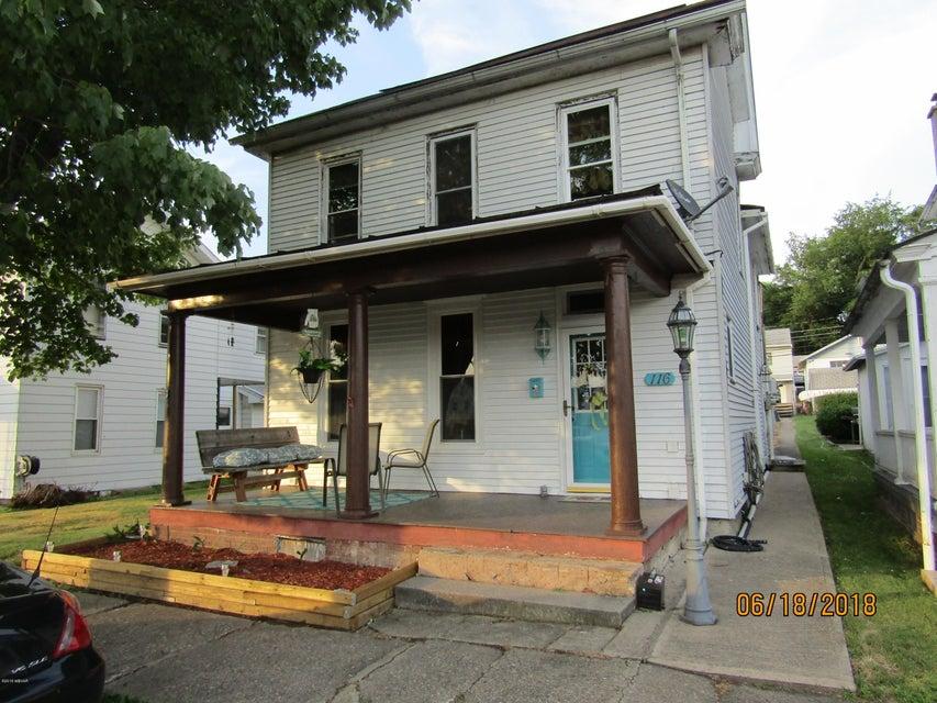 116 PENNSYLVANIA AVENUE,Watsontown,PA 17777,3 Bedrooms Bedrooms,2 BathroomsBathrooms,Residential,PENNSYLVANIA,WB-84462