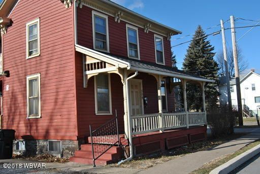 309 GRIER STREET,Williamsport,PA 17701,4 Bedrooms Bedrooms,2 BathroomsBathrooms,Residential,GRIER,WB-85382