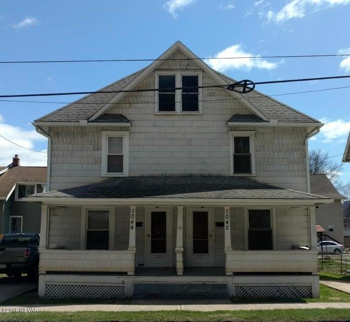 1042 DEWEY AVENUE,Williamsport,PA 17701,3 Bedrooms Bedrooms,1 BathroomBathrooms,Resid-lease/rental,DEWEY,WB-85825