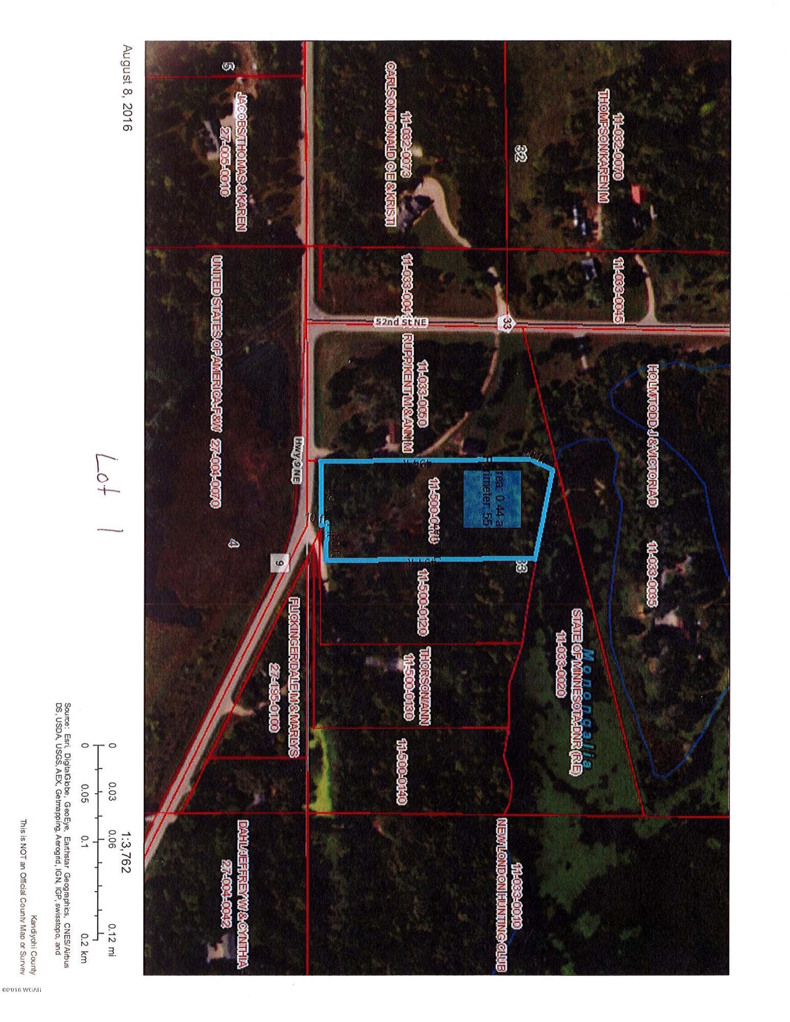 Xxx Hwy 9,New London,Residential Land,Hwy 9,6024403
