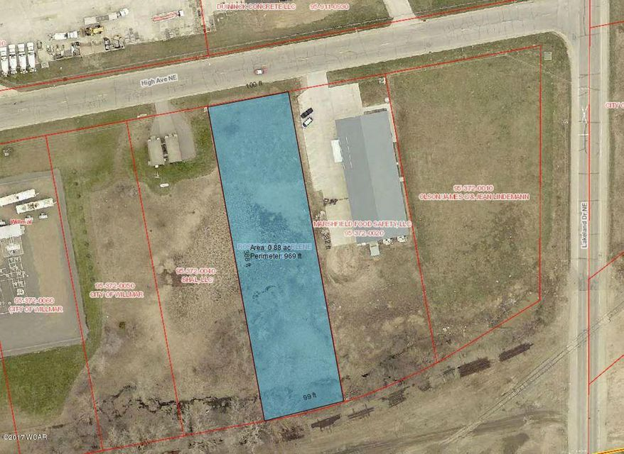 1400 High Avenue,Willmar,Commercial Land,High Avenue,6027172