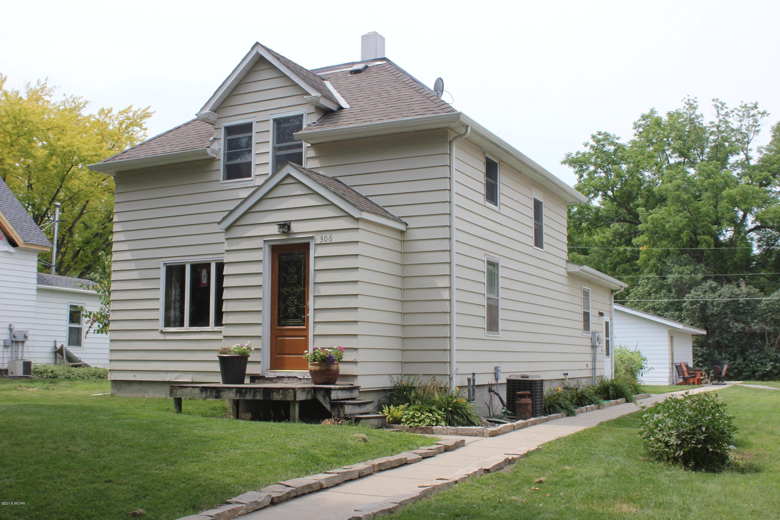 306 N 9th Street,Kerkhoven,3 Bedrooms Bedrooms,2 BathroomsBathrooms,Single Family,N 9th Street,6031799
