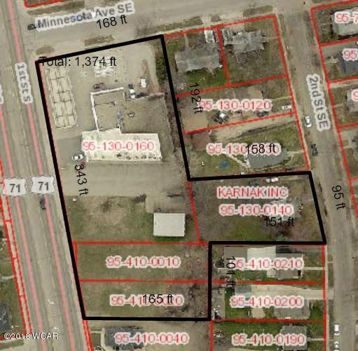 605 1st Street,Willmar,Commercial,1st Street,6032007