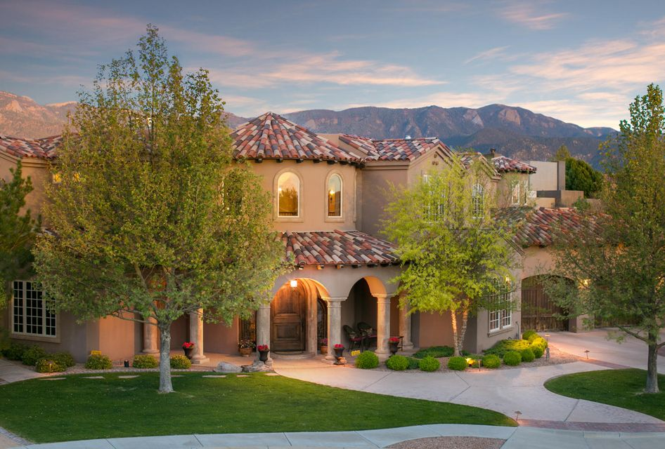 Luxury homes for sale albuquerque nm for Paint and wine albuquerque