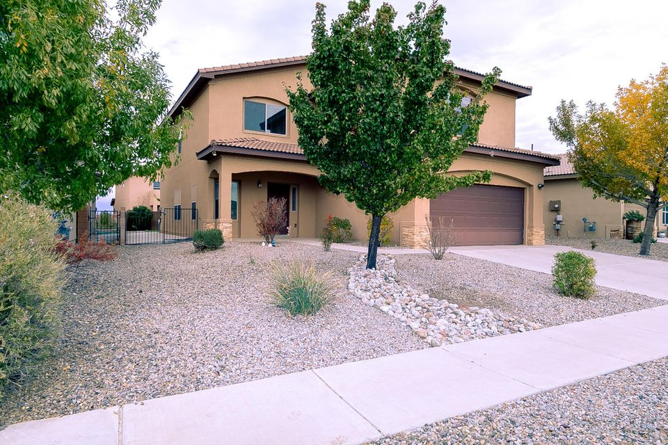 Gorgeous RayLee Home is Move-In Ready! Beautiful Versatile floor plan has 4 bedrooms, 2 living areas,ceiling Fans plus an upstairs loft/ playroom. Kitchen has tile counter-tops, Oak Cabinets, lots of storage, plus a large walk in Pantry.Other features include Tile & Carpet, laundry room. Covered Patio and Landscaped backyard