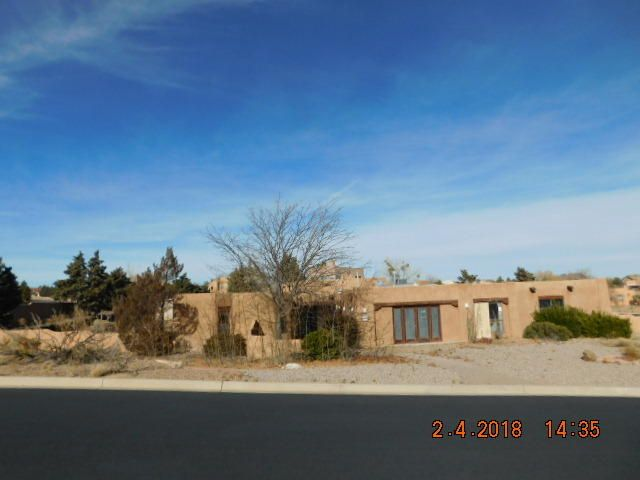 Located in Serene Rivers Edge II, conforming home was the builder's model with views, chef's kitchen, skylights, beamed ceilings, kiva fireplace, refrigerated air, circular driveway, RV parking area, and a private pool.  This home can be spectacular again! Great potential and rare opportunity!! See this one today! Utilities are off and need inspections and any code related repairs to restore service. Condition and existence of all mechanicals, pool and pool equipment is unknown. Condition of roof needs repair/replace. Inspections are at buyer expense and for buyer knowledge. This property is being sold in its AS IS condition. No warranties or guarantees expressed or implied.