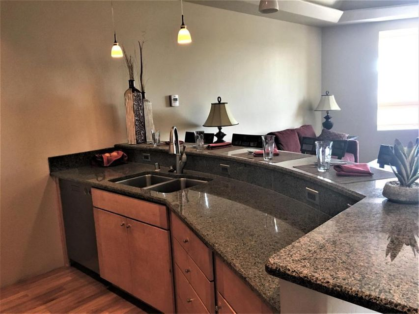 Guard House/Service: No; Hist/Prop/Lndmrk:No; Rented: No; Land Lease; No HOA: Yes; HOA Dues/Month 247.62 HOA Mandatory: YesHOA Covers Type: Common Area; Ext of Residence; Insurance; SecurityNob Hill Luxury Living! Beautiful gleaming hardwood floors. Granite, Wolf, Sub-Zero and Asko, just to name a few of the higher end features. This fabulous home faces Central Ave and has a balcony overlooking Nob Hill. There are beautiful natural walnut and  granite located throughout. There is a lot of natural light with an open floor concept. The Family Room is directly of the kitchen with a beautiful 2 level modern staircase. Building has a common area patio with grill, elevator access, and secured entry. This unit does not have a garage.