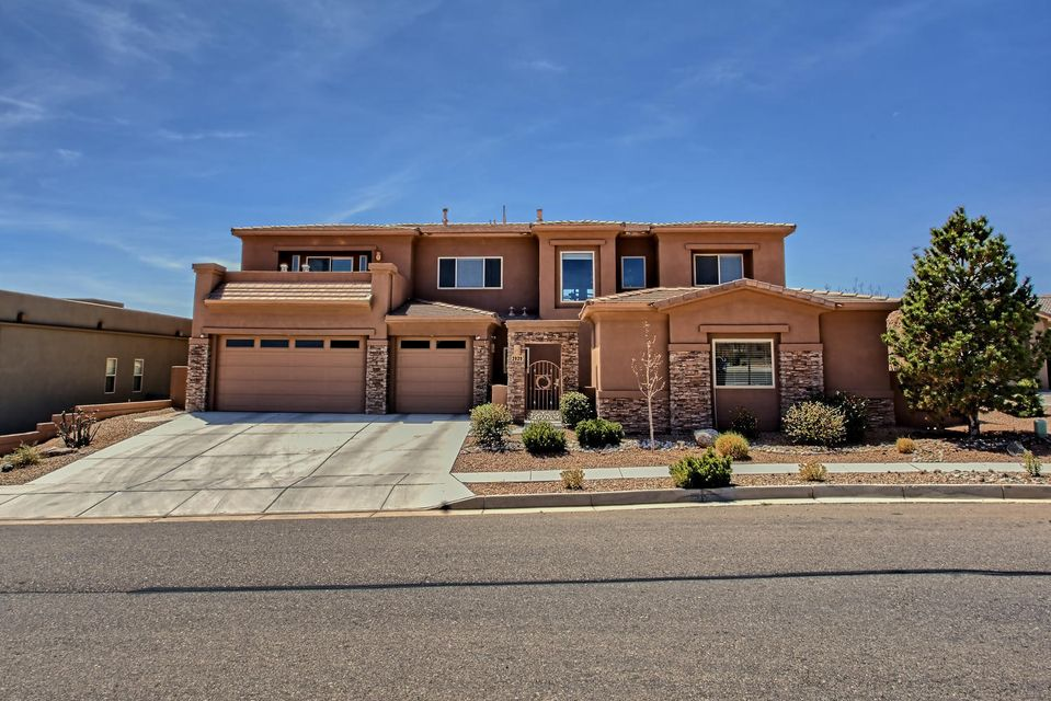 Amazing views will captivate you from this absolutely gorgeous custom home boasting architectural accents and a detached Casita is an entertainers dream! Kitchen which features abundant granite counters and cabinetry! stainless steel appliances including the microwave/oven/trash compactor/ new Samsung dishwasher/freestanding KitchenAid 4 burner gas range/Pantry! Raised island breakfast bar with sink! Formal dining room with Beautiful crown molding and wonderful chandelier! Main level owners suite boasts recessed light ceiling and panoramic views!  Alcove is ideal for nursery/home office/exercise room! Luxurious spa bath with an oversize jet tub for two/dual vanities/custom tile large separate double headed shower! Big walk in closet!
