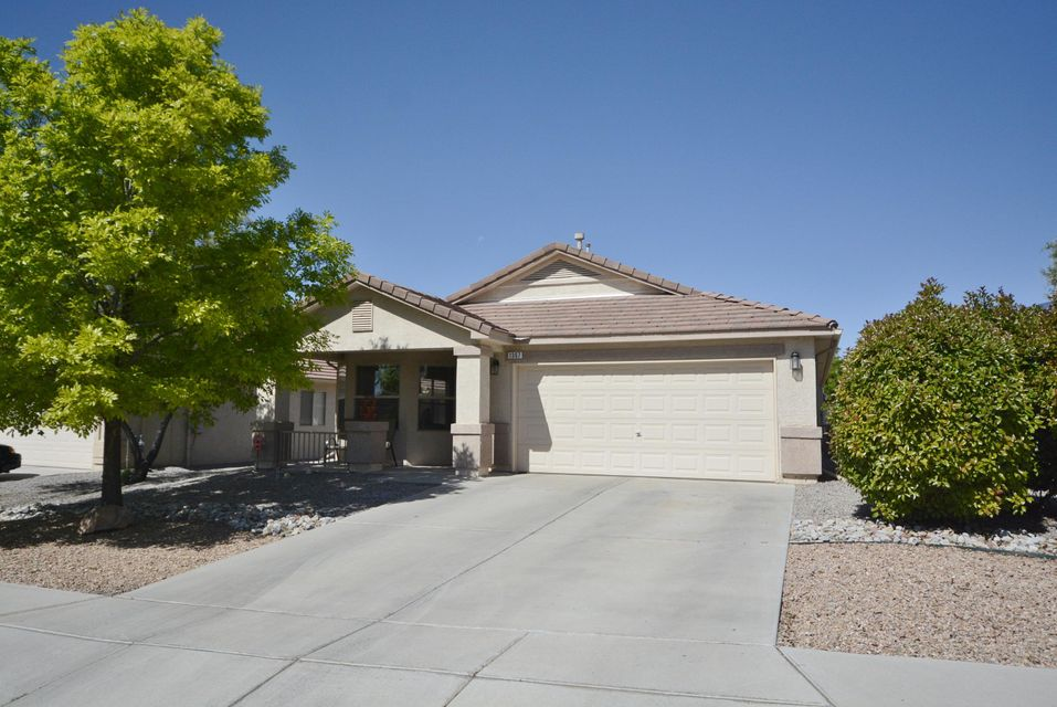 Enjoy this DR Horton Dream Home in Desirable Astante at Cabezon. Energy Efficient Solar Panels! Great Room Features High Ceiling & Cozy Fireplace! Amazing Backyard, Perfect for Entertaining! Fabulous Kitchen Featuring Stainless Steele Appliances! Refrigerator conveys. Master Suite Features Full Bath w/Dual Sinks and Garden Tub! Refrigerated Air! MUST SEE!!!! You Won't Be Disappointed! Pride of ownership shows thru-out!
