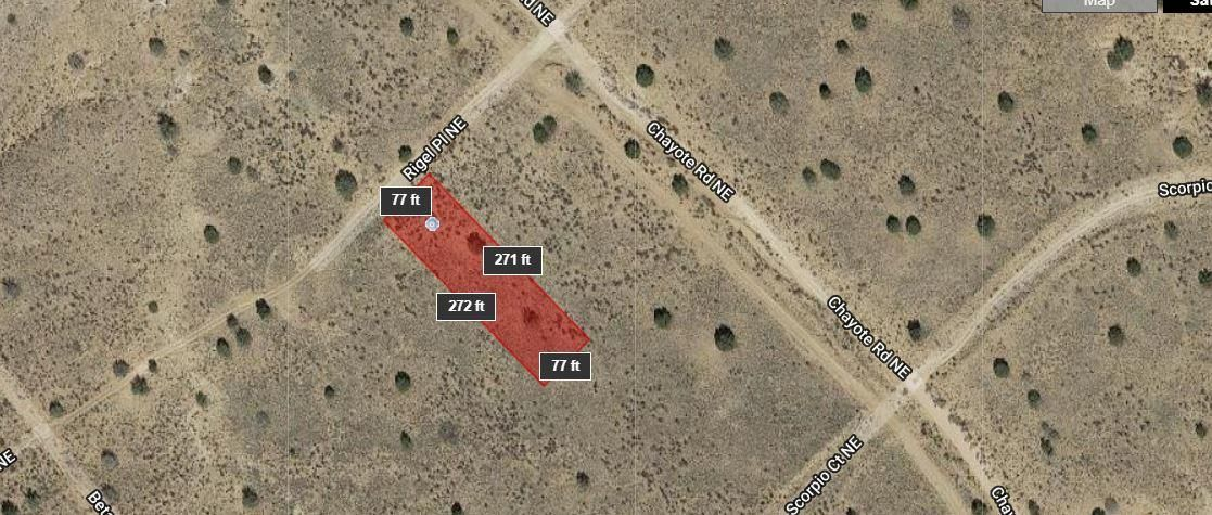Up and coming area of Rio Rancho, find these three adjoining parcels for sale. Price is for each lot.