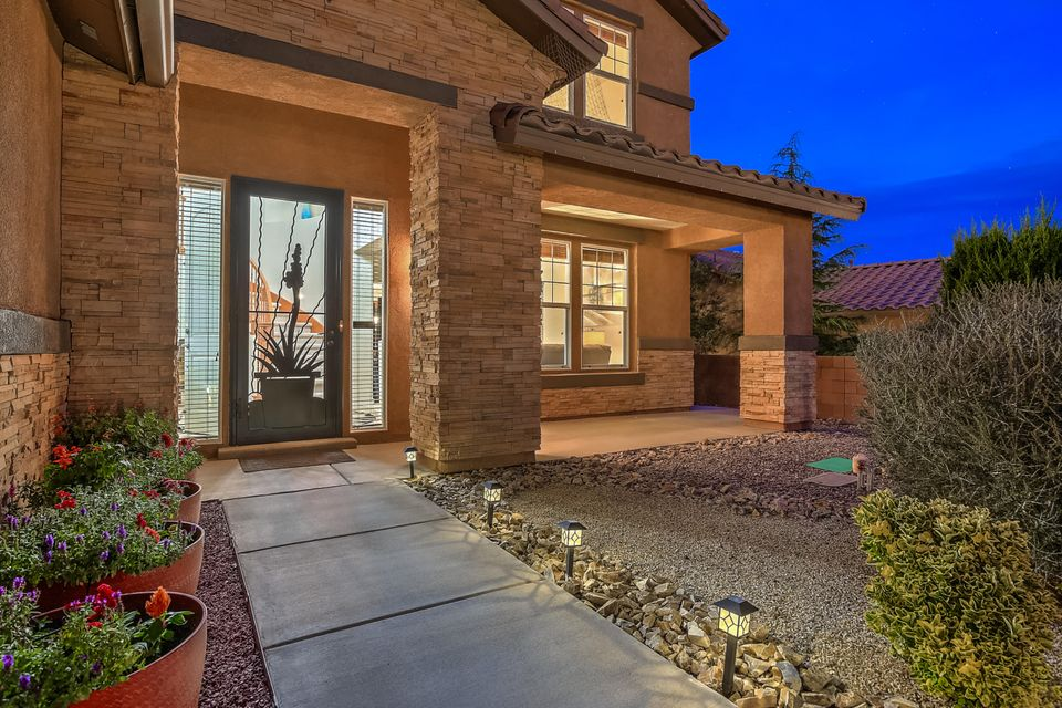 Premium lot with Views of the mountains. Fully landscaped with an amazing backyard. Upgrades include an outdoor kitchen that includes a pizza oven (from Italy), outdoor louvered roof, concrete work,  shed to match the house and tons of landscaping.  Eat-in kitchen with stainless steel appliances, large island, granite and upgraded cabinets.There's also a 2nd story deck. Large Master Suite with sitting area, walk in closet and double sink. Three flexible living areas, 4 bedrooms, office and options for the laundry area (laundry room or set up for upstairs laundry in master suite). Loma Colorado offers 90 acres of parks and open space, 3 miles of walking/biking trails, minutes from schools, dog parks, tennis courts, the Aquatic Center and the Sports Complex. P ONE YEAR HOME WARRANTY INCLUDED