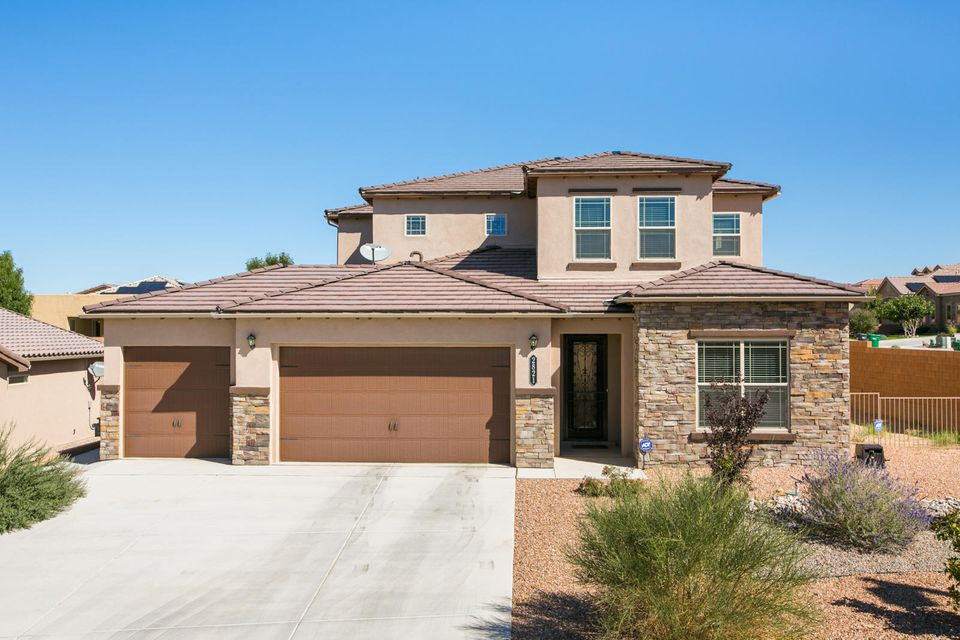 Take A Look At this One of A Kind, Luxury Home in the Beautiful Cabezon Community.This Exquisite Home Offers a Main floor Master Suite. The Master Bath includes double sinks separate tub and shower. Granite counter tops in the Kitchen that is open to the Dining and Living Area, This Home is an Entertainers Dream Home. A Great place to call Home!