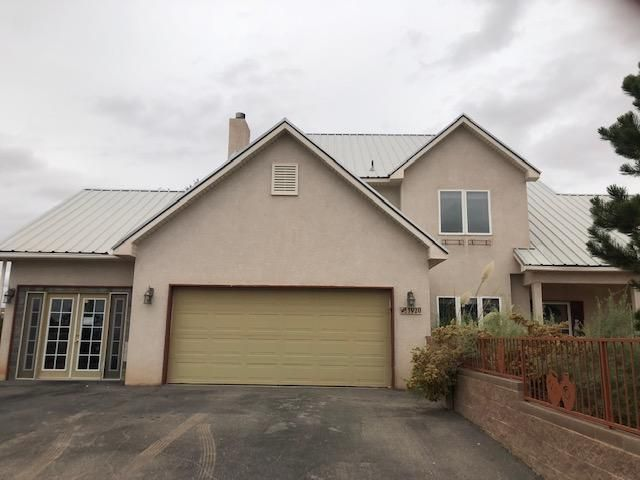 This 2 story N.NM 4bd/2.5ba home offers exhilarating views of the Sandia Mountains, right from your front yard! The house itself is very spacious inclusive of 2 extra rooms, a bar in the living area, and granite countertops, a custom tile backsplash and 2 pantries in the kitchen. Make the back yard your own special sanctuary, as it already has landscaping, a koi pond set-up, garden beds, a gazebo, storage shed, and an outside bar/kitchen area. The property is sold in as-is condition, and only needs minor repair work to make it feel like home sweet home! Freddie Mac First Look through 11/15/2018