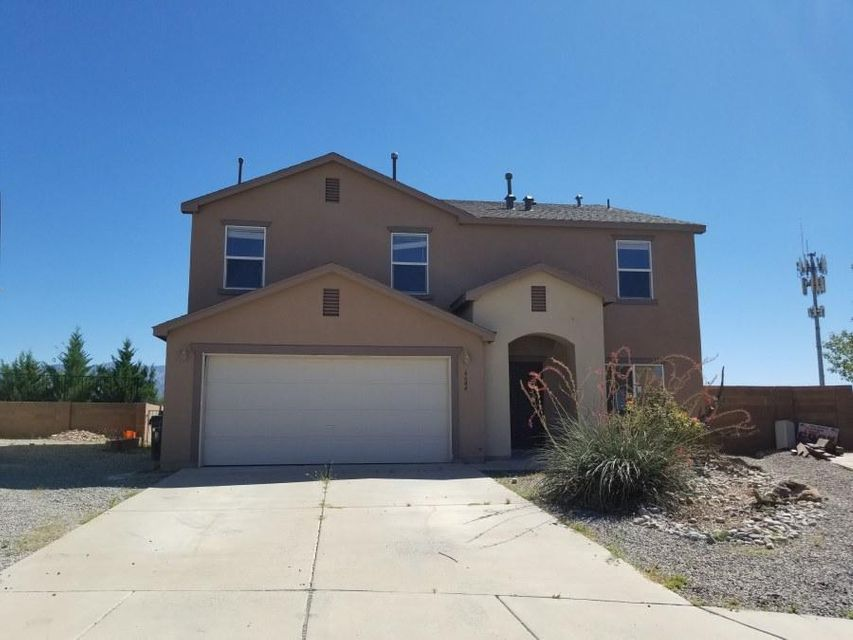 This 2 story N.NM home offers incredible views of the Sandia Mountains, just right from your own private expansive backyard!  It is located in a suburban family neighborhood almost on the outskirts of Bernalillo. The high ceilings give the rooms a very spacious feel and there is tons of extra space and storage to utilize. The home is sold in as-is condition, but has tons of potential and only needs some minor repair work to make it feel homely. Come see today!
