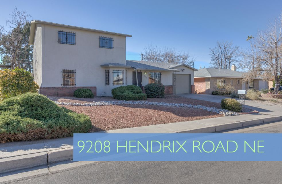 9208 Hendrix Road, Albuquerque NM 87111