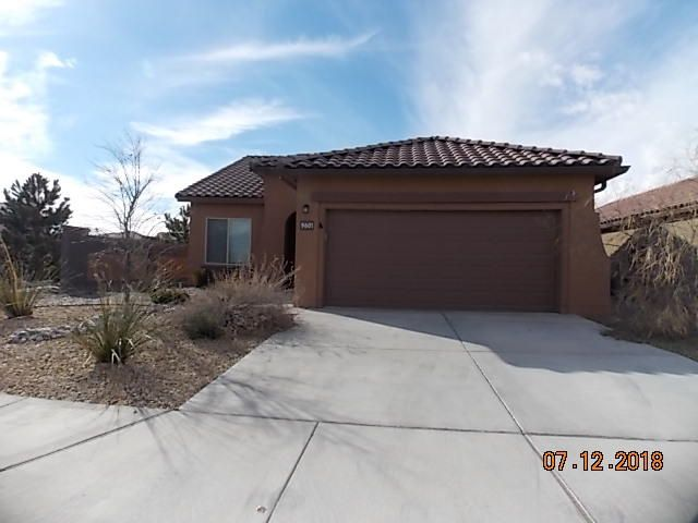 Will be Open on Saturday 2/2/2019 from 1-3pm. Stunning Marble Floorplan by Pulte Homes, on a dead end street.  Beautiful view of the Sandia Mountains from the dinning room. 3 bedroom 2 full bathrooms,2 car garage,Large master bedroom walk in closet, Tankless water heater, and 2 parks close by.Great schools in the area (Volcano Vista HS, James Monroe MS, and Sunset Views.  Wide hallways could eastly be adapted for wheelchair access. High ceilings and views.
