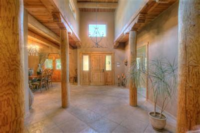 interior to front door