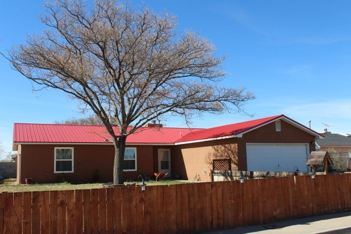 New Synthetic Stucco and Metal Roof