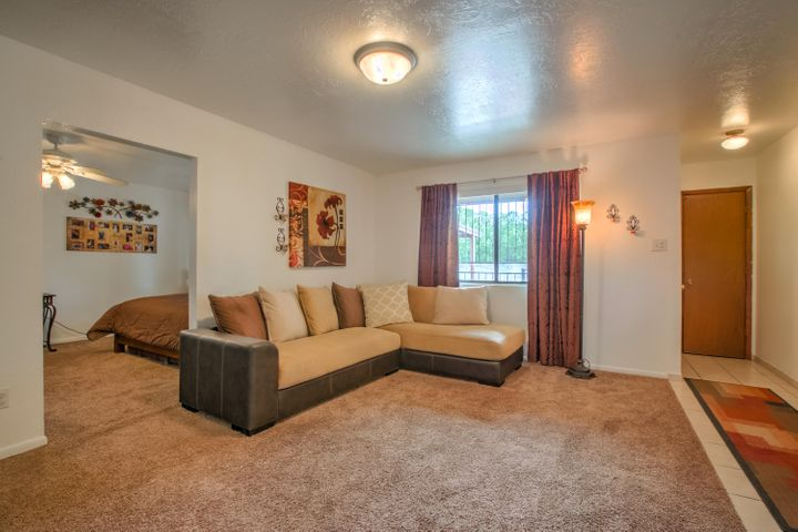 Open Living Room - large enough for a roomy sectional
