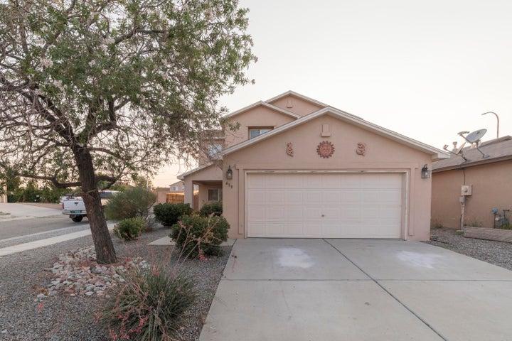 439 Desert Rock Drive SW, Albuquerque, NM 87121