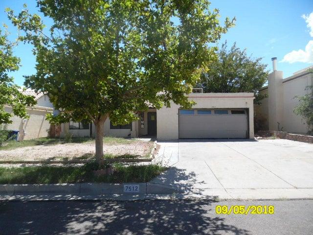7512 Mesquite Wood Drive NW, Albuquerque, NM 87120
