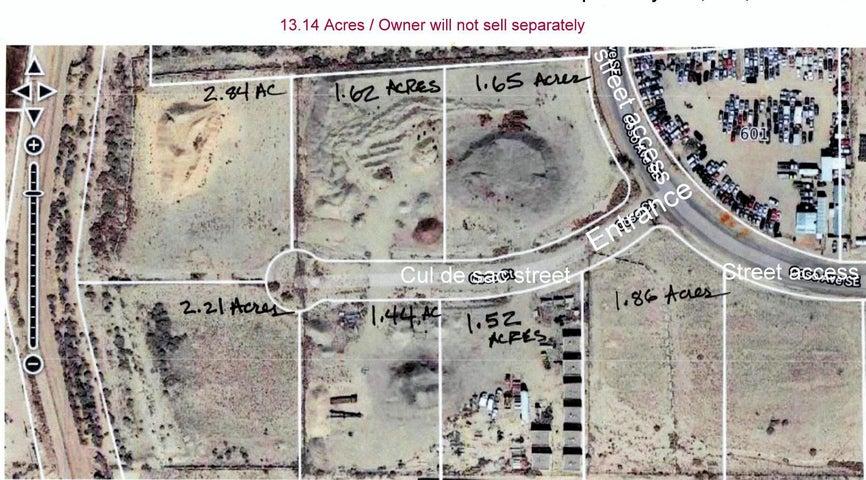 000 13.14 Acres zoned M-1 Coso Court SE, Albuquerque, NM 87105