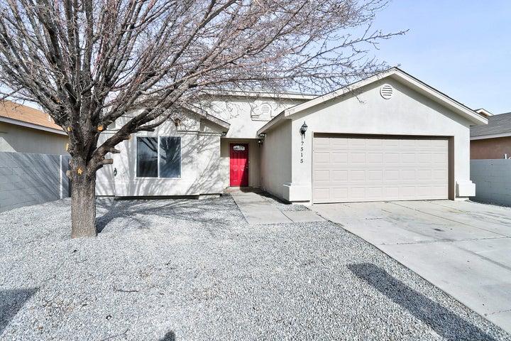 7515 DESERT CANYON Place SW, Albuquerque, NM 87121