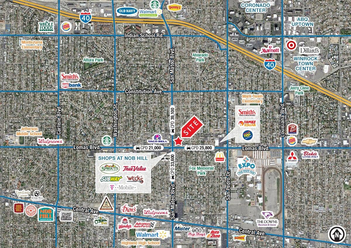1100 SAN MATEO Boulevard NE, Albuquerque, NM 87110