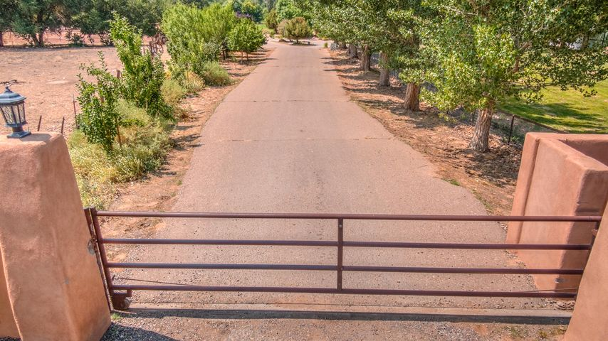 Gated area of bucolic dreams