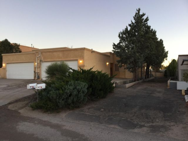 Two bedroom two bath home with two car garage.  Home backs up to the Tierra del Sol Golf Course.  Home has new carpet throughout.  Additional parking west side of home could be used for an RV.