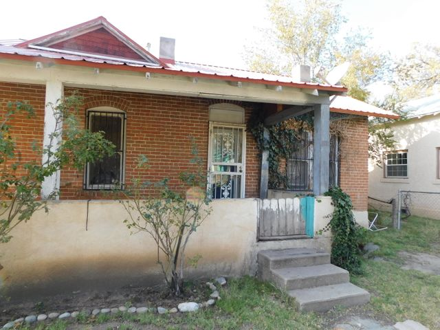 GREAT INVESTMENT OPPORTUNITY in a good location - this house has LOTS of potential with two bedrooms, one bathroom, a mudroom/laundry room and a big yard. Centrally located near the heart of Belen on the corner of Chavez St. & Second St. This property offers a unique opportunity for a buyer / an investor who is looking for a good deal to renovate to their specific taste.Know that his property is being sold ''AS-IS, WHERE-IS'' as part of an estate sale. No seller's disclosure available. Condition of out building on the property is unknown as windows and doors are boarded up.