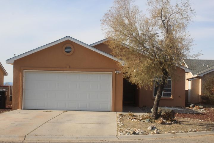 This home offers spacious and functional open floor  w/ vaulted ceiling,2 x 6 construction, ceramic tile flooring, refrigerated air, Exterior has already been re-stucco. Freshly painted,  new appliance, new carpet. All you'll need to do is move in.