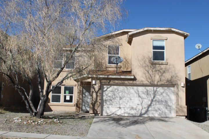 2 Story home located close to schools, shopping and businesses.  The home features a large living/dining area open to the large kitchen.  The kitchen has an eat-in area and an island.  There are 4 bedrooms and 2 1/2 bathrooms.  Block wall in the back yard and a park close by.