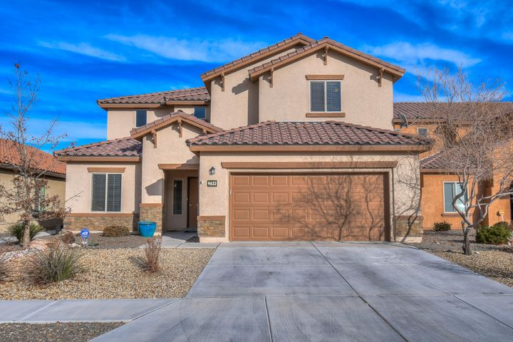 Welcome to this beautiful Pulte home located in the Boulders Community. This home features 5 bedrooms, an office, and 4 full baths. You'll love the great room with soaring ceilings and a gas fireplace. Large open kitchen features granite counters, stainless steel appliances, and tile floors. Master suite is on the main level and has upgraded flooring and a luxurious master bath with large walk in closet. Upstairs you'll find a loft and 4 spacious bedrooms, office is on the main level. Relax in your landscaped backyard complete with a covered patio and lush green lawn. So much house for the money, come see this great property today.