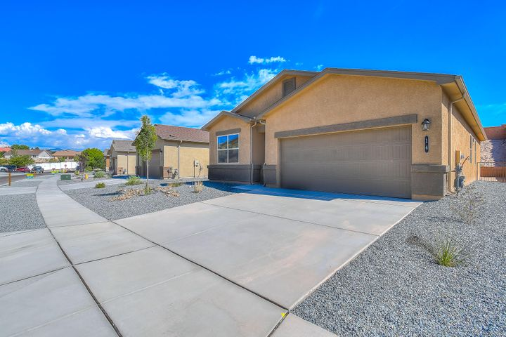 Brand new open floor plan 4 bedroom 2 bath home. This charmer offers all the efficiency and up to date design you can only get in a brand new home.