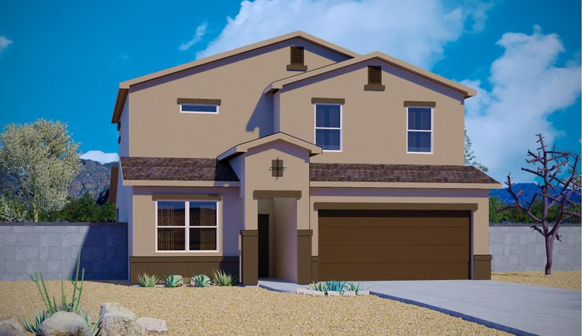 Brand new express home by DR Horton. 4 bedroom 3 bath with one bedroom downstairs. This home has a large open concept living room and a huge loft as well
